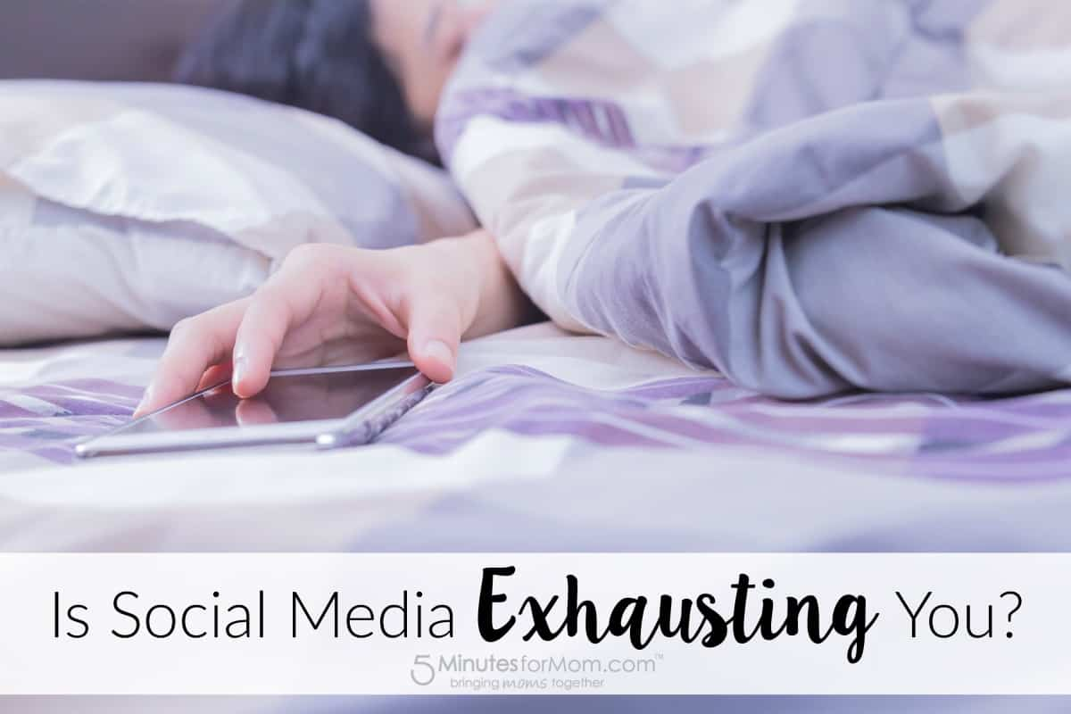 Is social media exhausting you