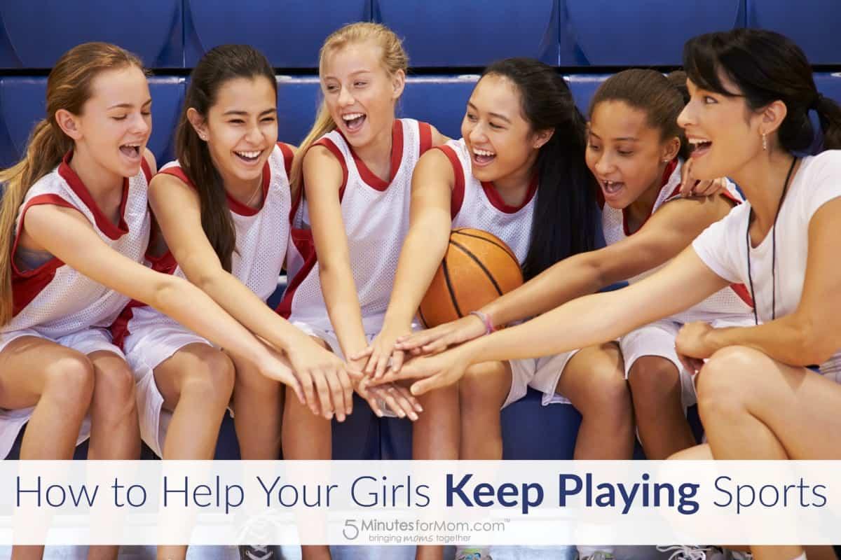 Help Girls Keep Playing Sports