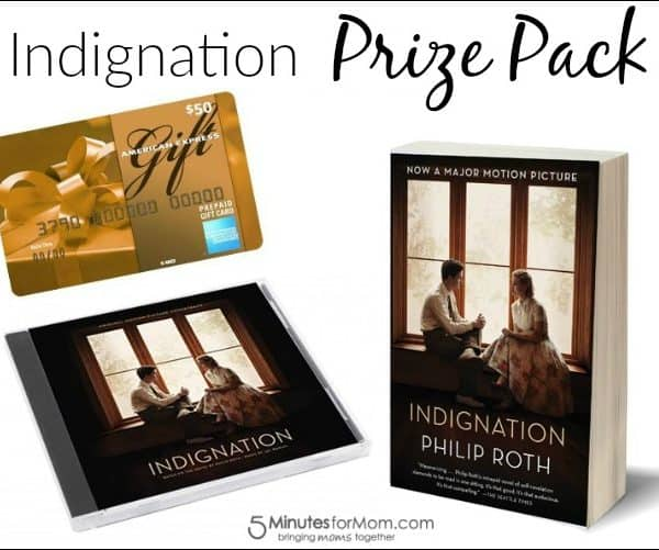 Indignation Film – Prize Pack Giveaway #Indignation