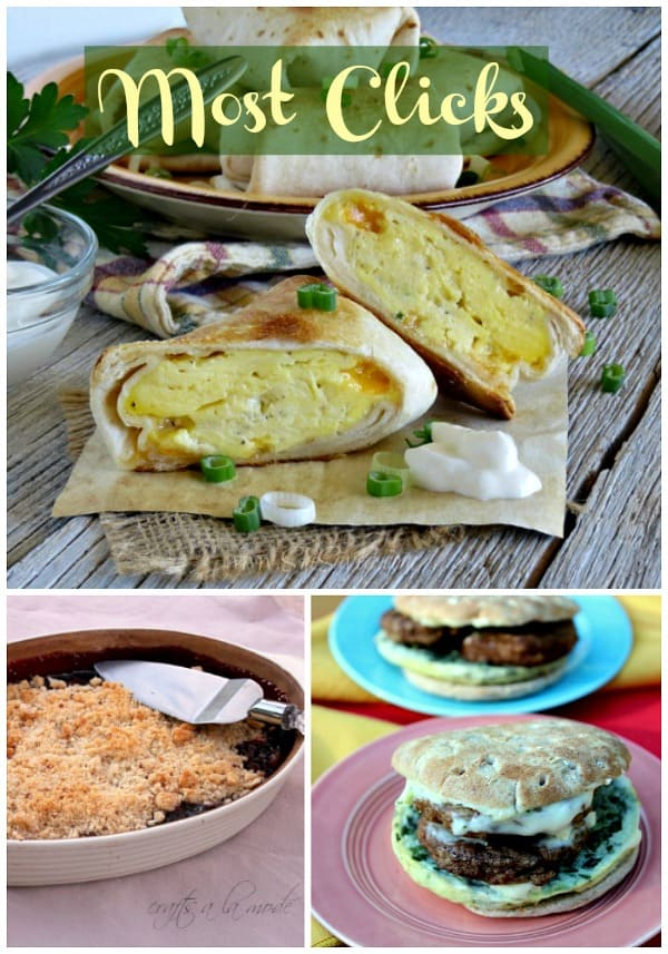 Most Clicks from Delicious Dishes Recipe Party 32