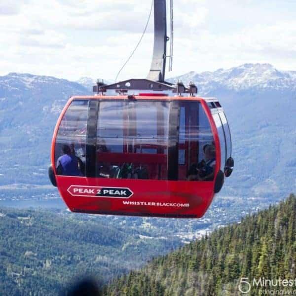 Add The PEAK 2 PEAK Gondola in Whistler Blackcomb to Your Bucket List