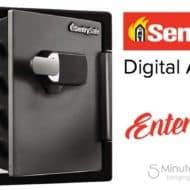 Win a SentrySafe Extra Large Digital Fire Safe