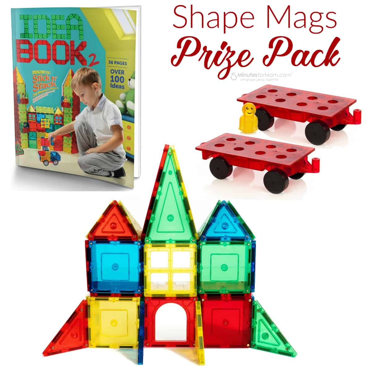 Shape Mags Prize Pack