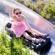 Westcoaster Slide in the Family Adventure Zone at Whistler Blackcomb