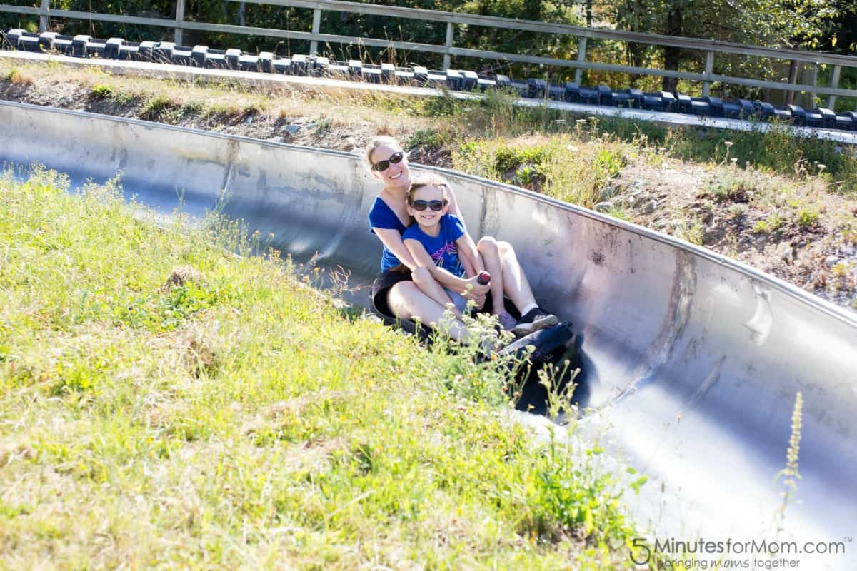 Westcoaster Slide - Blackcomb Family Adventure Zone - Parent and Child