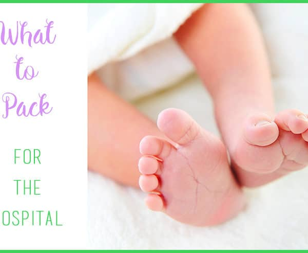 What to Pack for the Hospital When You Have a Baby