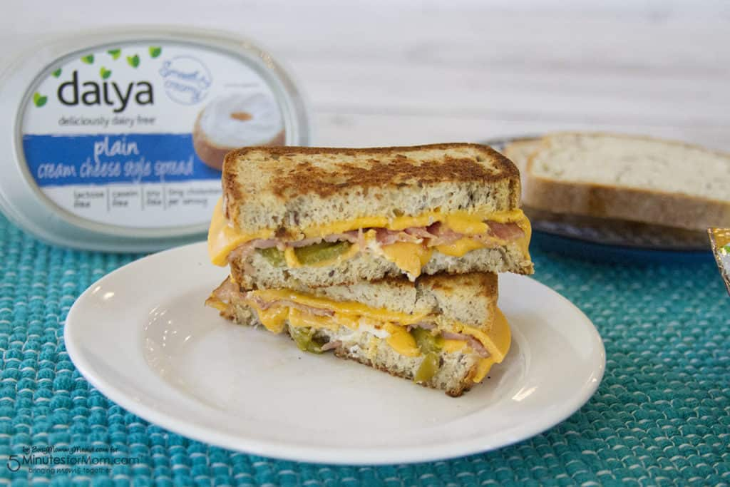 Dairy-Free Grilled cheese