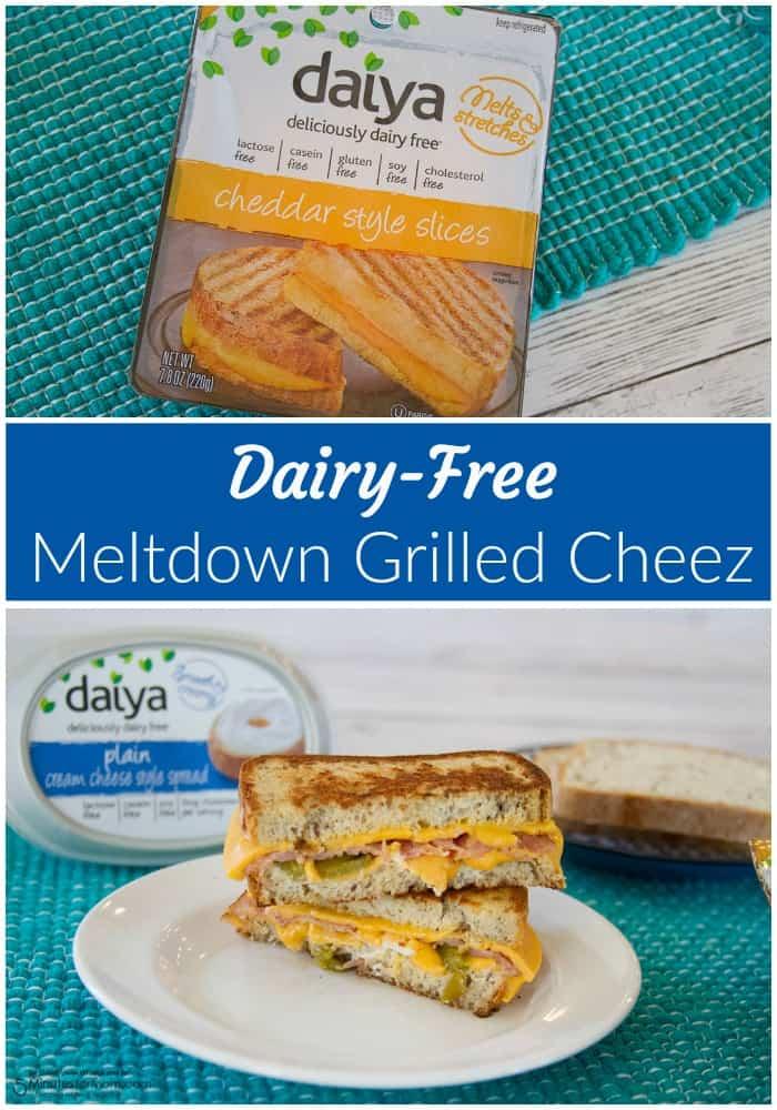 Dairy-Free Meltdown Grilled Cheez