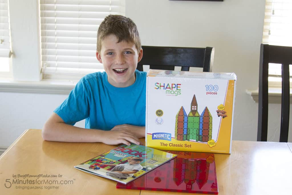 Shape Mags magnetic building toys