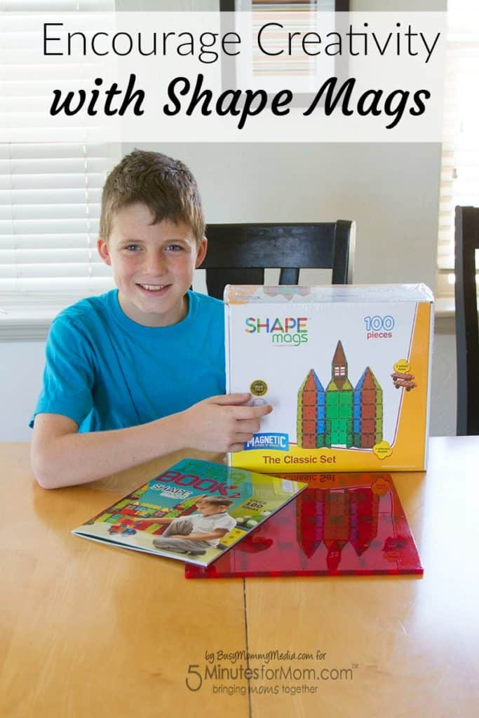 Encourage Creativity with Shape Mags