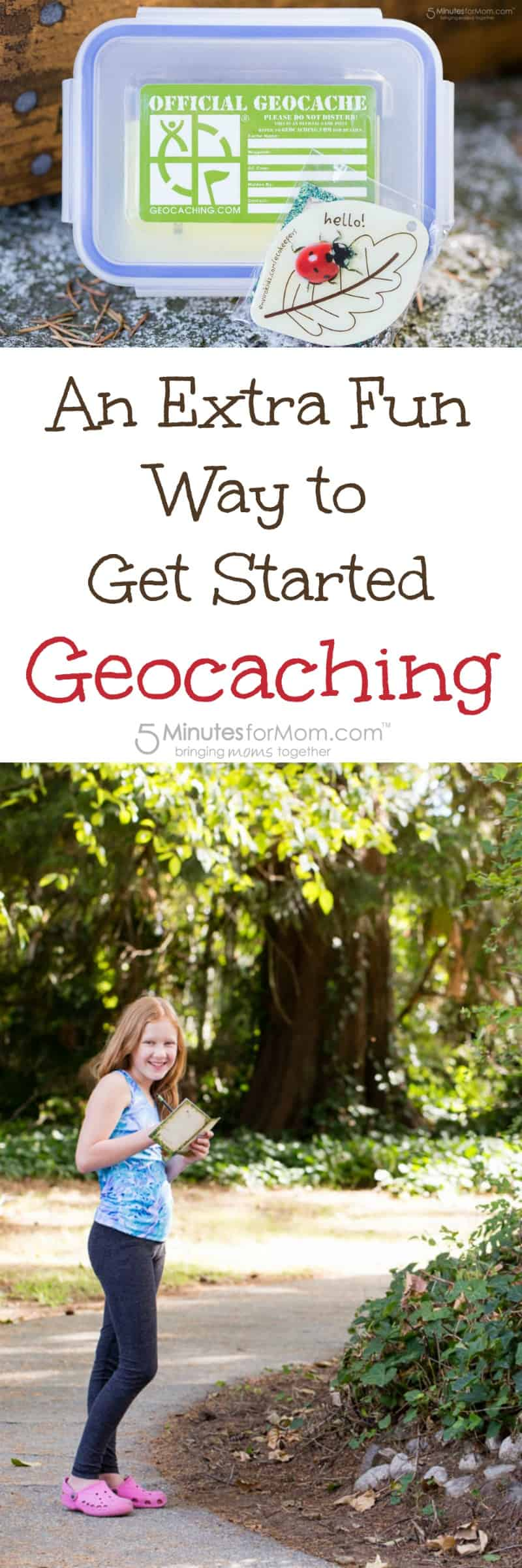 An extra fun way to get started geocaching