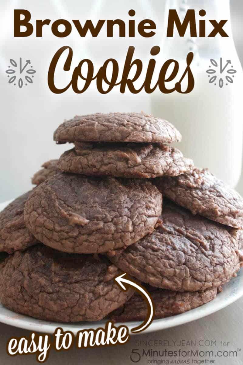 Brownie Mix Cookies - Easy Cookie Recipe