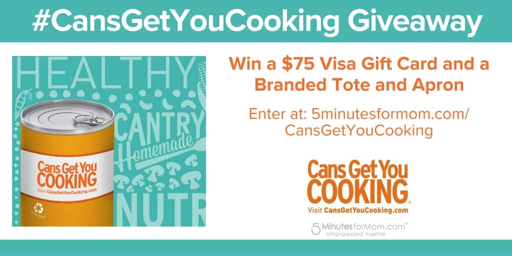 Cans get you cooking giveaway