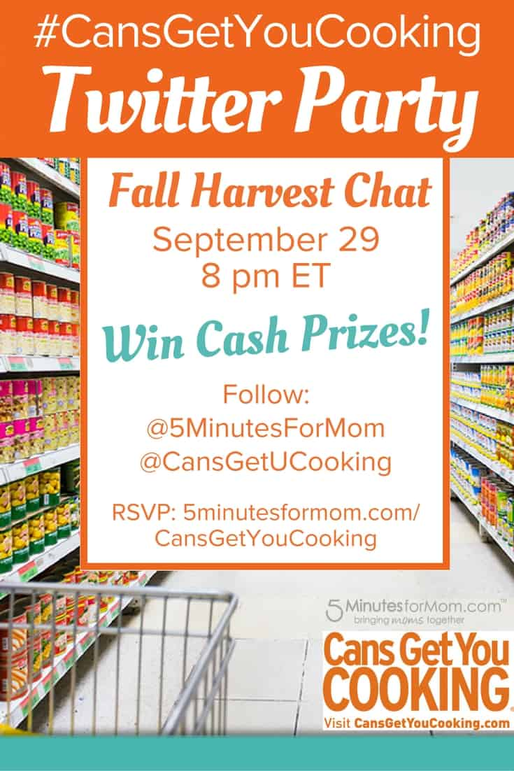 CansGetYouCooking Fall Harvest Twitter Party