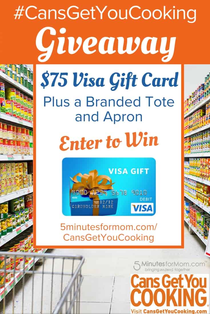 Cans Get You Cooking Giveaway - Enter to win