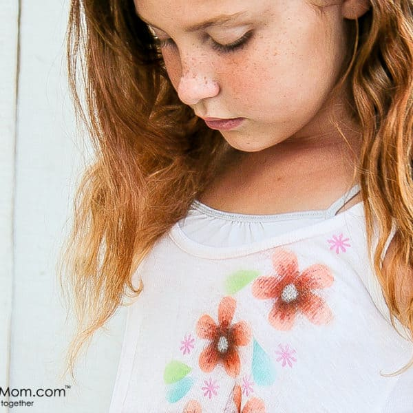 How to Airbrush Personalized Shirts for Kids