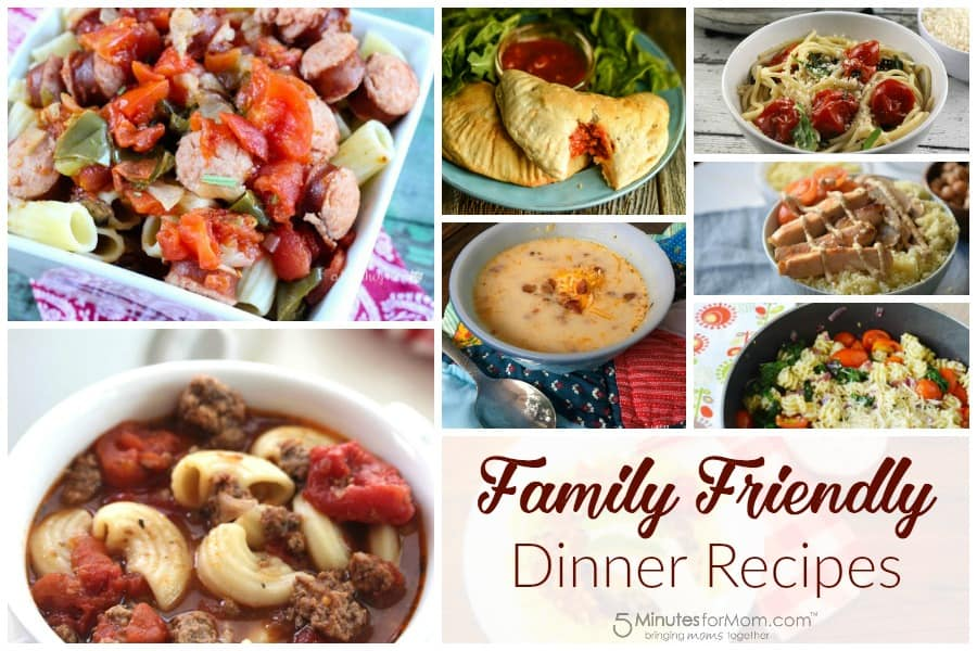 Delicious Dishes - Family Friendly Dinner Recipes