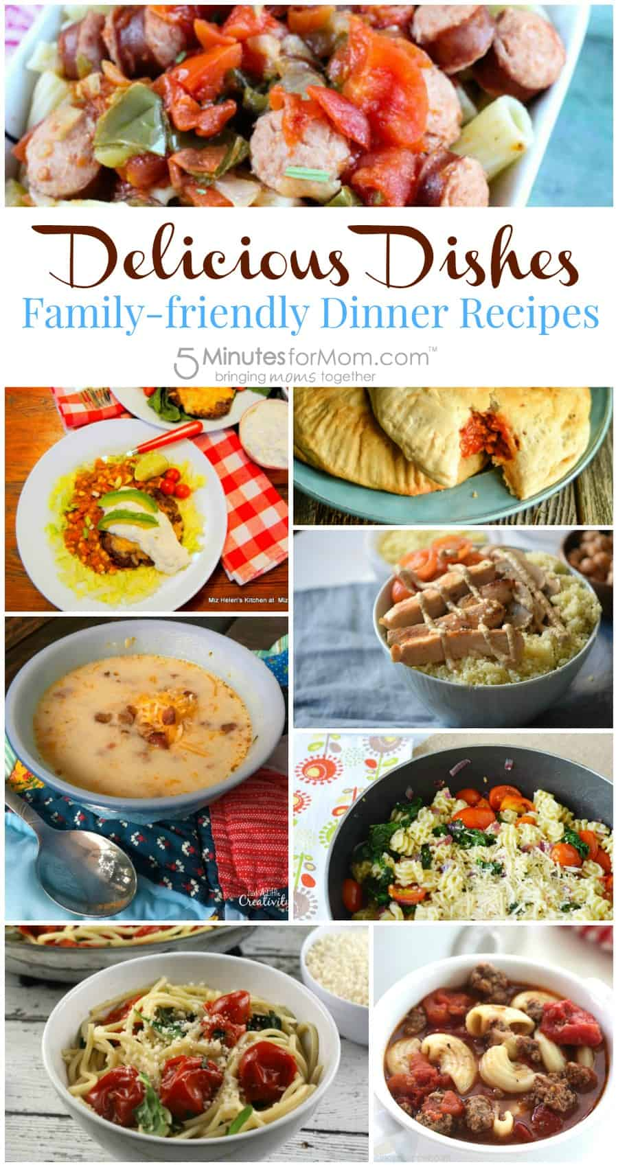 Delicious Dishes - Family-friendly Dinner Recipes
