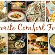 Favorite Comfort Foods and our Delicious Dishes Recipe Party