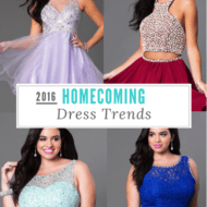 Homecoming Dress Trends 2016