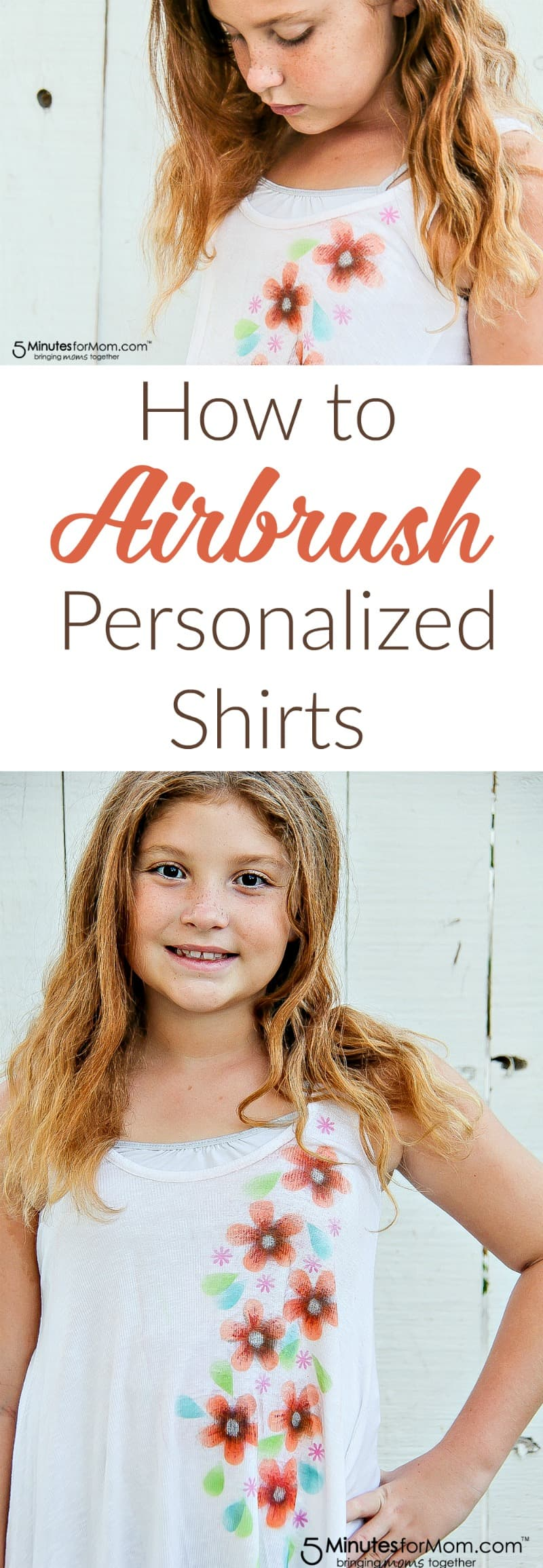 How to airbrush personalized shirts