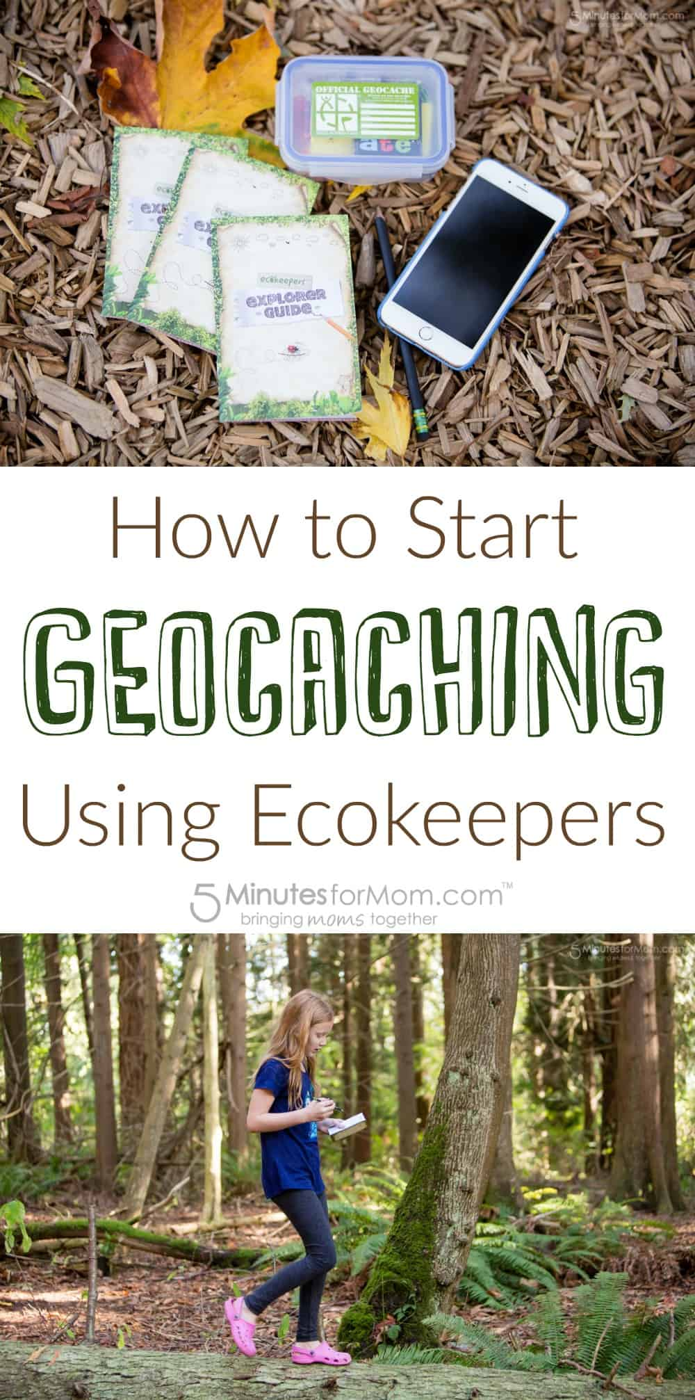 How to start geocaching with kids