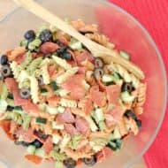 5 Ingredient Italian Pasta Salad Recipe