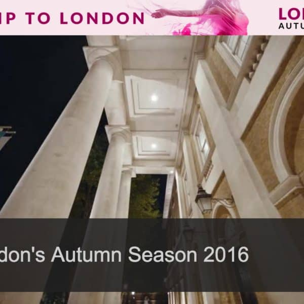 Stunning Video Takes You on a Poetic Tour of London in Autumn #LondonIsOpen