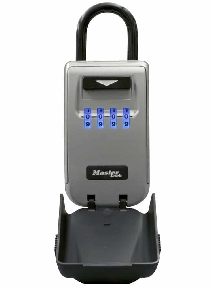 Master Lock Light-Up Dial Lock Box