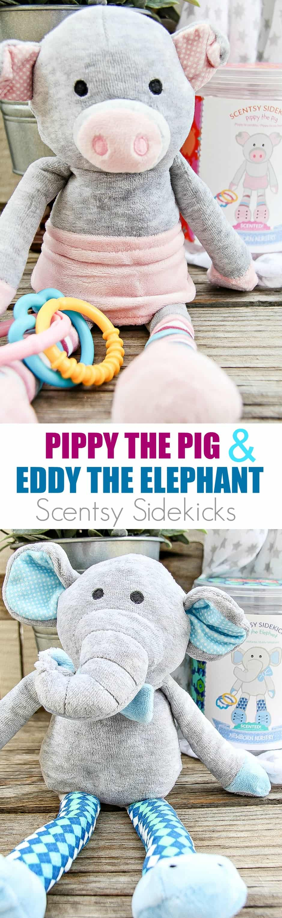 Scentsy Sidekicks make the perfect baby gift
