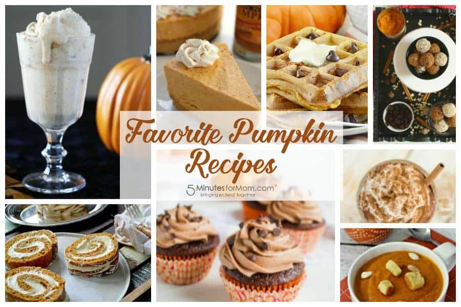 Favorite pumpkin recipes