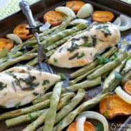 Sheet Pan Dinner with Sweet Potatoes and Sage Recipe