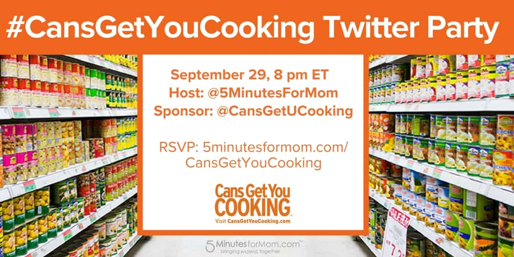Cans Get You Cooking Twitter Party