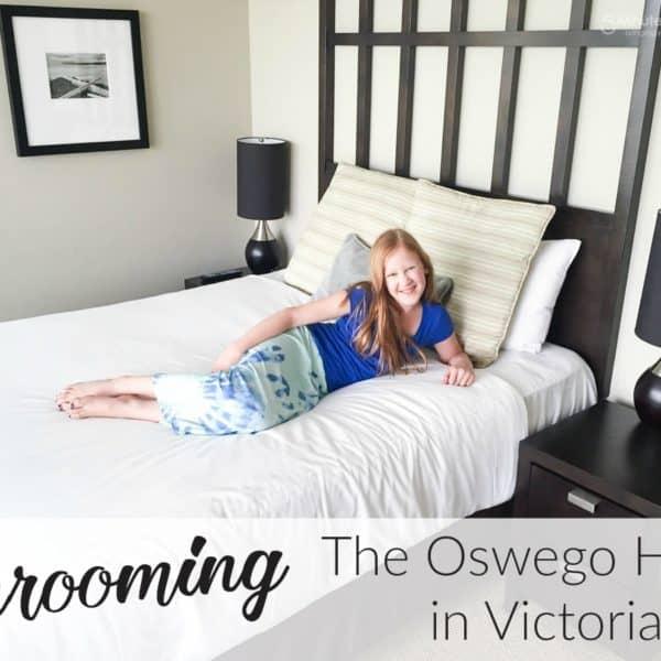 Unrooming the Oswego Hotel in Victoria #UnRoomingCA