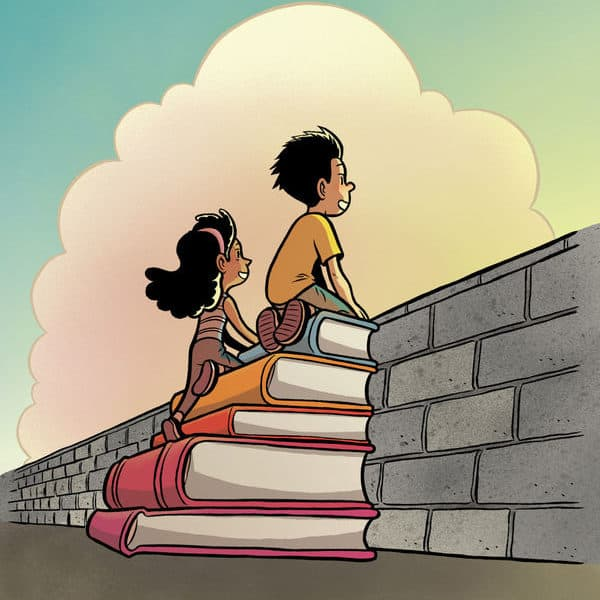 Encourage Your Children to Expand Their Horizons by #ReadingWithoutWalls