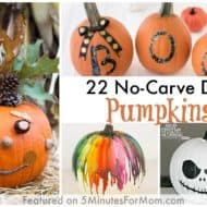 22 No-Carve DIY Halloween Pumpkins