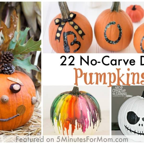 22 No-Carve DIY Halloween Pumpkins