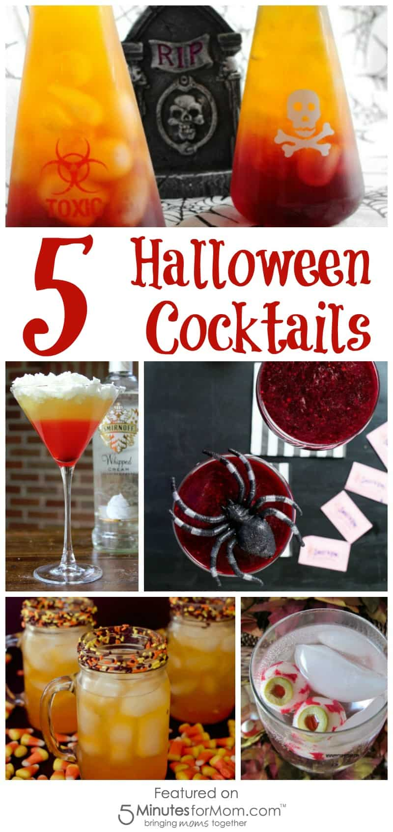 5 Halloween Cocktails - Drinks perfect for a Halloween Party