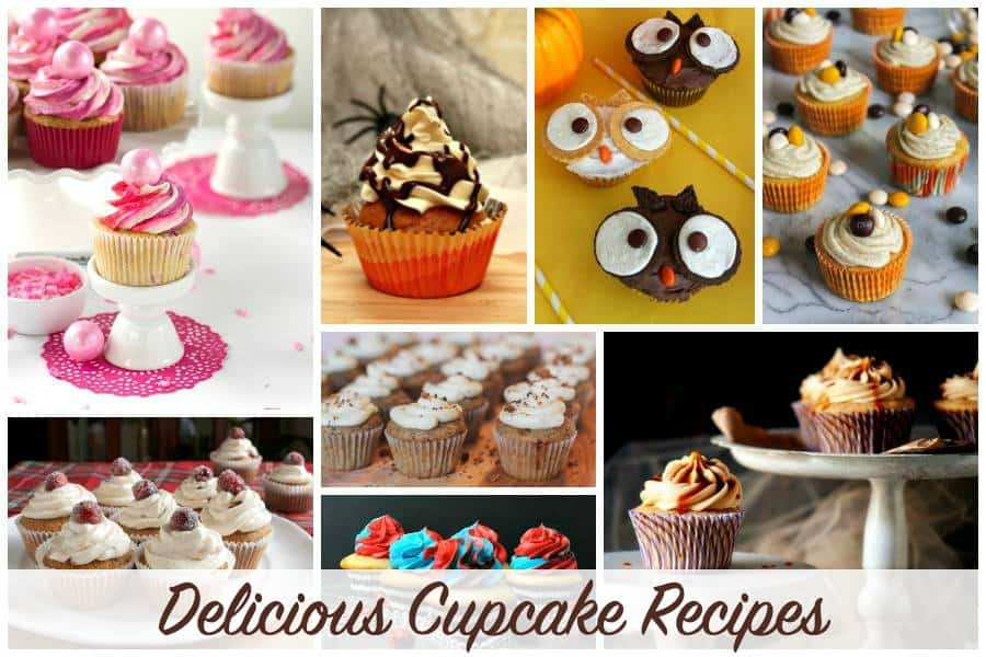 Delicious cupcake recipes