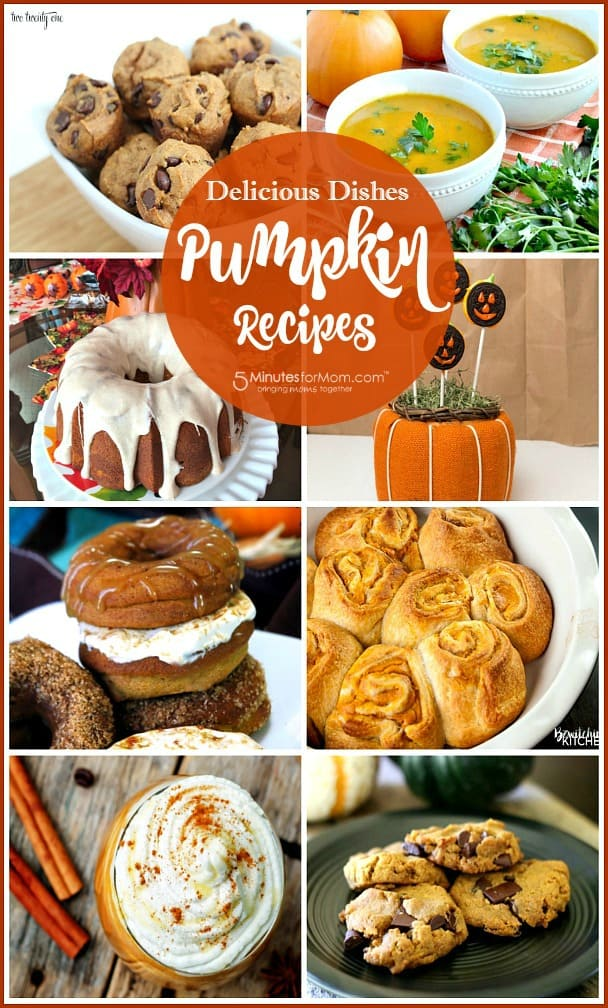 Pumpkin recipes - comfort food
