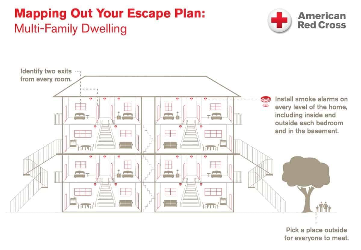 100 fire escape plans emergency readiness u0026 education city of mayflower arkansas. Black Bedroom Furniture Sets. Home Design Ideas