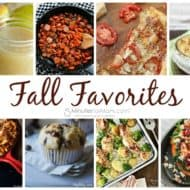 Favorite Fall Recipes and our Delicious Dishes Recipe Party