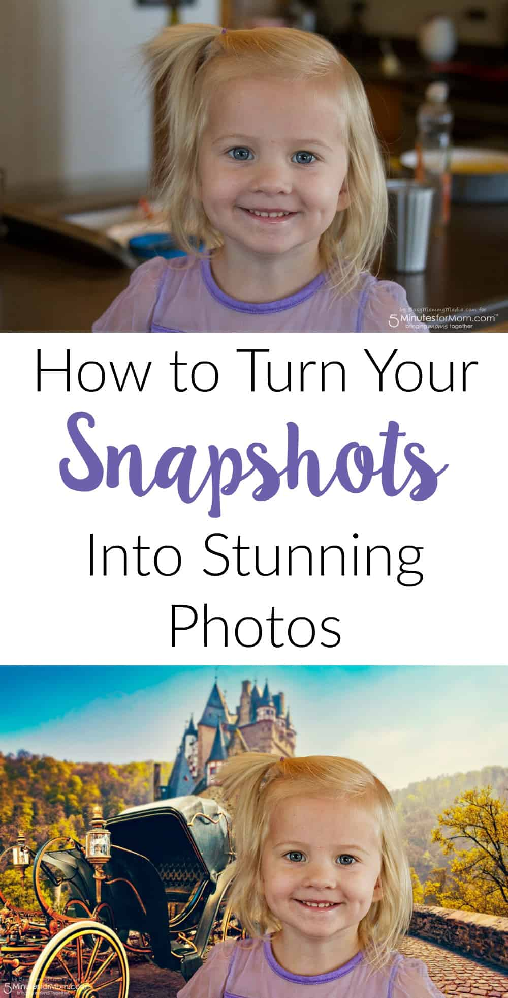 How to turn your snapshots into stunning photos