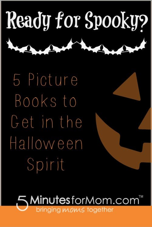 Are your kids ready for some spooky fun? Here are 5 picture book recommendations to get you started!