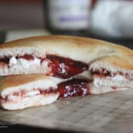 Breakfast Bagels with Smucker's Fruit and Honey Fruit Spreads