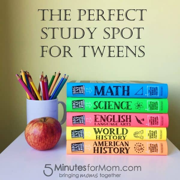 The Perfect Study Spot for Your Tween