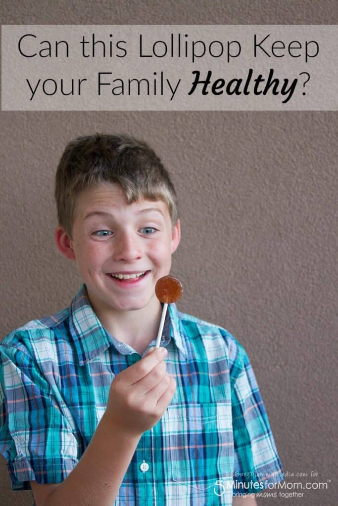 Can this Lollipop Keep your Family Healthy?