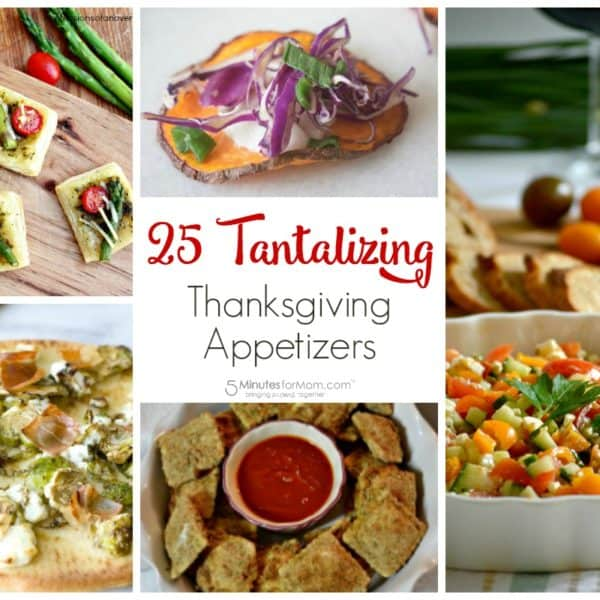 25 Tantalizing Thanksgiving Appetizer Recipes