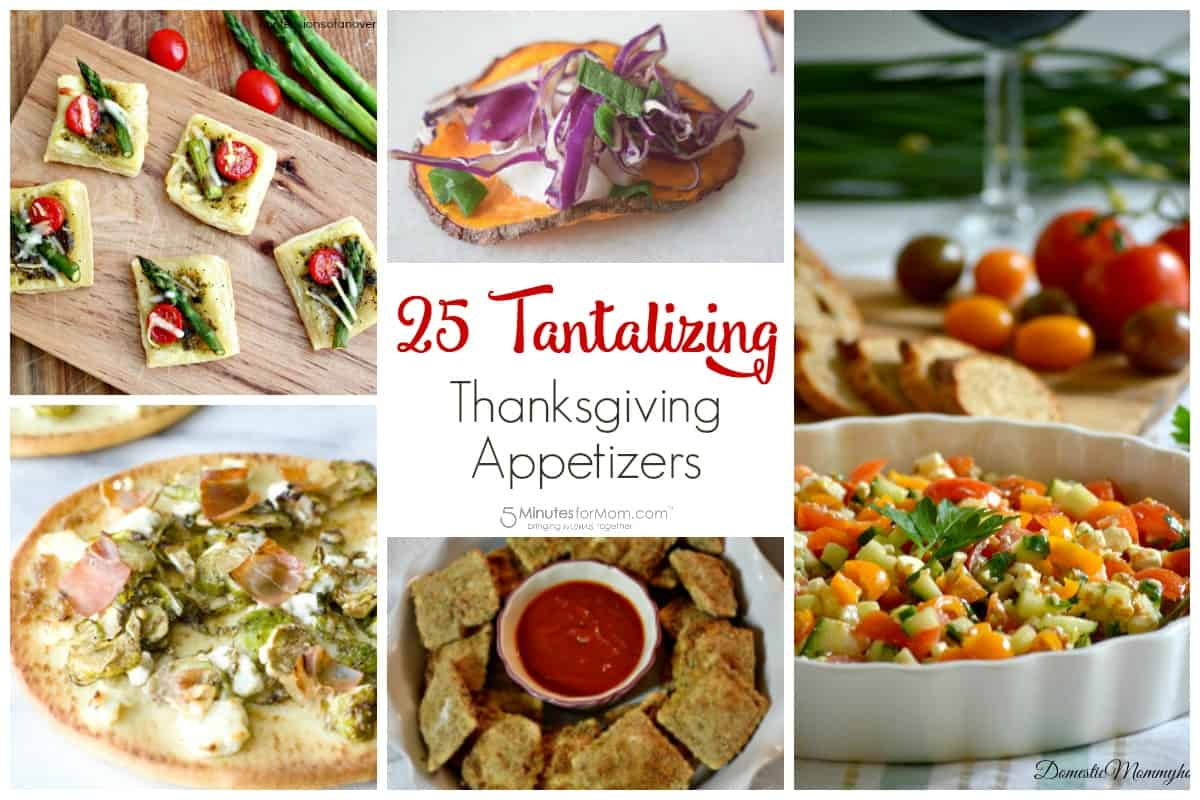 25 Tantalizing Thanksgiving Appetizers - Thanksgiving Recipes