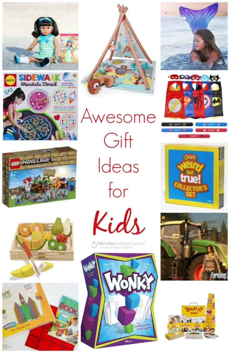 Awesome gift ideas for kids